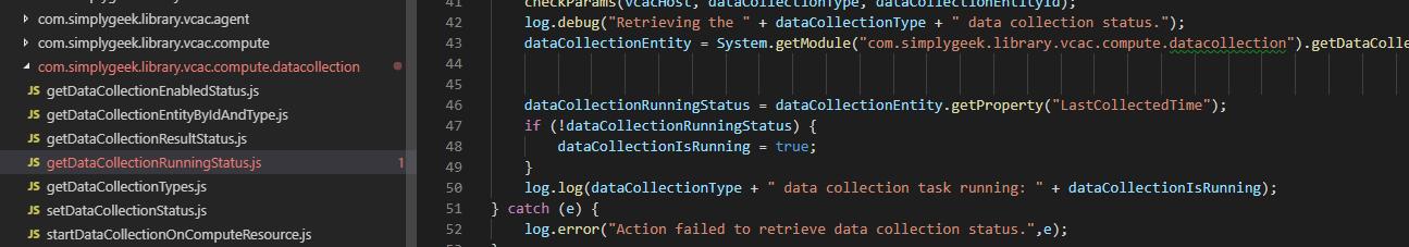 Using Visual Studio Code for your vRealize Orchestrator Development