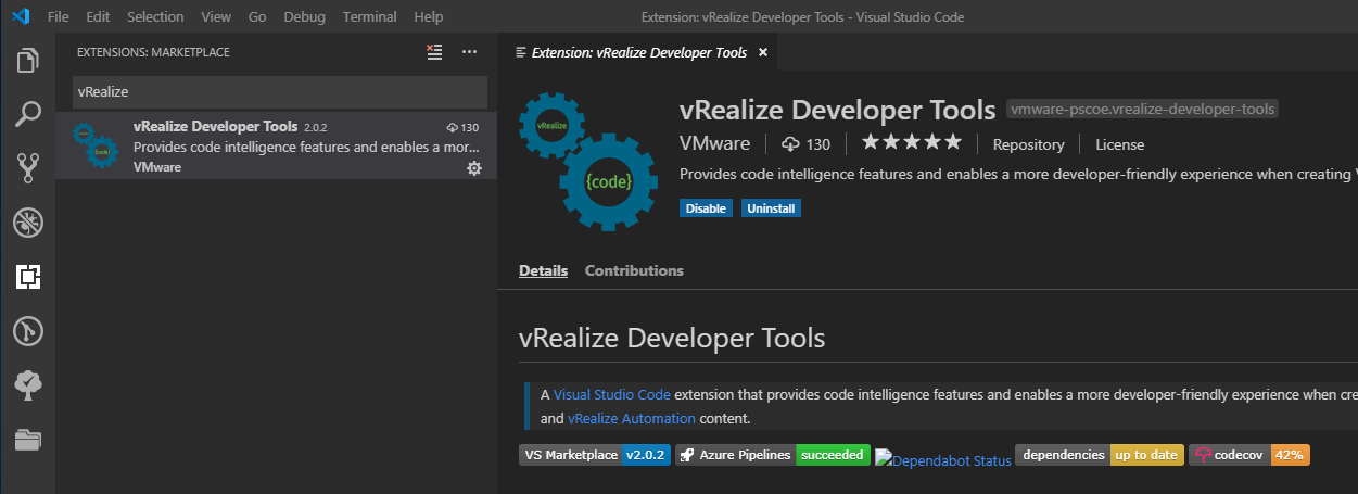 IaC for vRealize: Deploying vRealize Build Tools To Allow