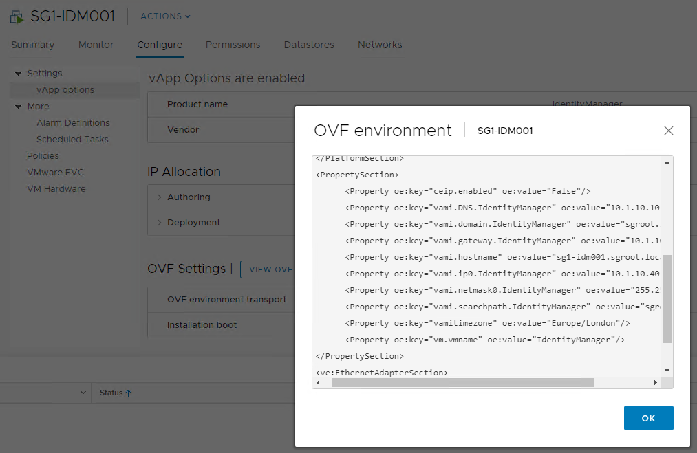 Automate vSphere Virtual Machine and OVA Appliance
